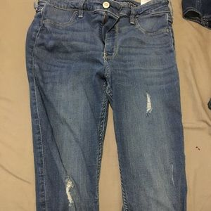 Distressed 11R Hollister Jeans